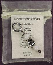 MOONSTONE CHARM Traveler's Stone Eternal Passion Amulet Talisman Totem Gem Rock