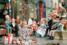 Thunderbirds 11x17 Mini Poster Tracy family at Christmas Tintin Lady Penelope