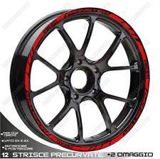 RIM WHEEL STICKERS SPORT RED DUCATI MONSTER 696 796 821 1200 S2R S4 S4R