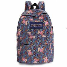 Teddy Bear Patterned Jansport Bag (Brown)