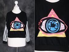 T-24 Mystic Gothic Punk Auge Eye Motiv Sweatshirt Pullover Japan Harajuku Trend