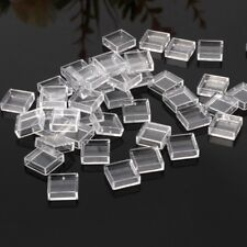 100Pcs Clear Plastic Pushbutton Switch Tact Button Caps Keycaps Covers Protector