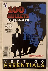 100 Bullets #1 Vertigo Comics Filp Side Vertigo Essentials Graphic Novels #1
