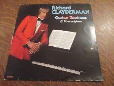 33 tours RICHARD CLAYDERMAN couleur tendresse 12 titres originaux DEL 2 700061