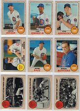 2017 Topps Heritage Chicago Cubs Team Set (20 Cards) Kris Bryant AS,Rizzo AS