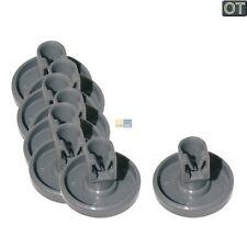 AEG Original Korbrolle Unterkorb 8 Stück Spülmaschine Geschirrspülerzubehör