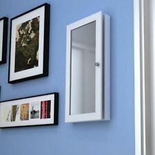 vidaXL Armadietto a Muro per Accessori con Specchio Portagioie con Specchiera