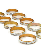 Ring 10 Pack Metal Alloy cheap Childrens/Young Adults Brand New Silver Colour
