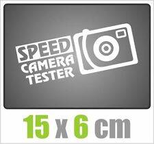 Speed Camera Tester Aufkleber JDM Style Sticker OEM TUNING DECAL Stickerbomb