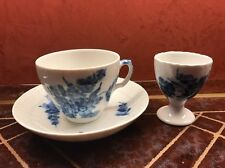 Royal Copenhagen Tea Cup, Saucer And Egg Cup