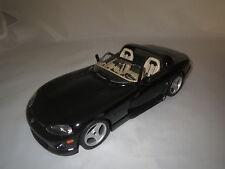 Bburago  Dodge  Viper  RT/10  (schwarz-beige)  1:18 ohne Verpackung !