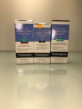 3 Neutrogena Healthy Skin Face Lotion with SPF 15 2.5 oz /night Cream 1.4 Oz