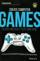CREATE COMPUTER GAMES Design and Build Your Own Game  [ CODING ] Book KIDS