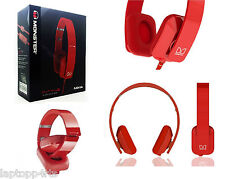 Genuine Nokia Monster Purity HD WH-930 Wired On-Ear Stereo Headset Mic Red