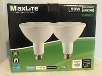 (4x)New LED Outdoor Flood Light Bulb, weatherproof  90 watt Daylight 5000!!