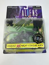 Aliens Vs Marines Kenner Action Figure Vasquez Vs Night Cougar Alien 1996