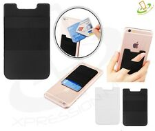 Adhesive Sticker Back Cover Card Holder Pouch Sleeve iPhone Samsung Universal