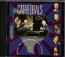 "THE CATHEDRALS...""ALIVE! DEEP IN THE HEART OF TEXAS""..... LIVE GOSPEL CONCERT CD"
