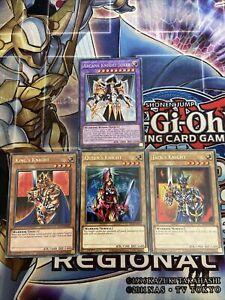 Yu-Gi-Oh Arcana Knight Joker Set King's Queen's & Jack's Knight Fusion Set KICO