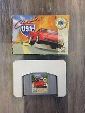 Cruis'n USA (Nintendo 64, 1996) - Cartridge, Box Included