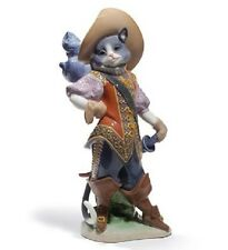 Lladro Puss in Boots