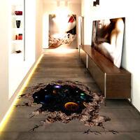 3D Floor/Wall Sticker Removable Mural Decals Vinyl Art Living Room Decors