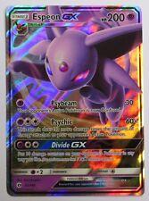 Espeon GX - 61/149 Sun & Moon Base Set - Ultra Rare Pokemon Card