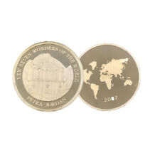 Petra In Jordan Wonders of Jordan 24k Gold Coin Challenge Gold Plated Metal Coin
