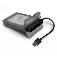 Tool-Free USB 3.0 SATA III Hard Disk Enclosures Case Cover For 2.5inch HDD SSD
