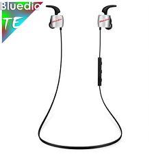 Bluedio TE Bluetooth 4.1 Wireless Sports Earphones Cordless Headphones, Silver