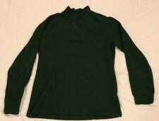 Vtg 90's Ralph Lauren/Polo - Dark Green 1/4 Zip Sweater - Boys L 14/16