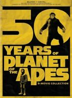 50 Years of Planet of the Apes: 9-Movie Collection (Blu-ray Disc, 2018)