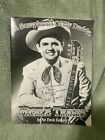 Merle Travis. A Scrapbook Of My Daddy, by Pat Travis Eatherly Signature on Front