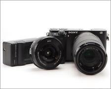 SONY Alpha a6000 24.3MP Digital SLR Camera - 16-50mm and 55-210mm Lens