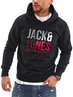 Jack & Jones Herren Hoodie Kapuzenpullover Sweatshirt Sweater Pullover Pulli