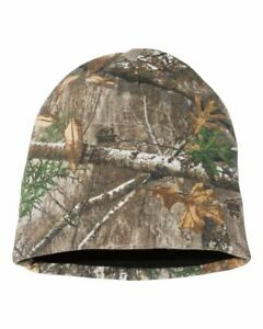 Realtree Edge Camo Reversible Stocking Cap Beanie, Camouflage Hat