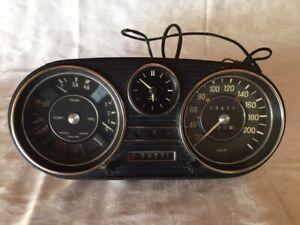 Mercedes Benz W115 Tachoinstrument Automatik VDOKR1600 Kienzle Uhr VDO1145424201