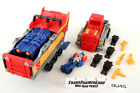 Optimus Prime Incomplete Action Masters 1990 Vintage Hasbro G1 Transformers