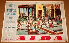 fotobusta film AIDA Alba Arnova Lois Maxwell Clemente Fracassi 1953 #2