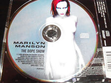Marilyn Mason The Dope Show Rare Australian Picture Disc CD # 00988