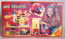 LEGO ® PIASTRA 16 x 18 scanalata ROSSO piastra di base basetta x184 1874 f579