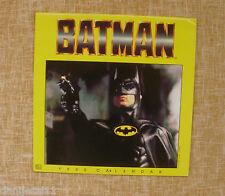 Tim Burton, BATMAN, year 1990, TM and DC Comics Collectible Calendar, Landmark