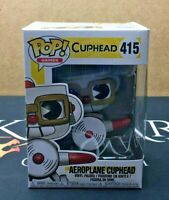 Aeroplane Cuphead - 415 Cuphead (Funko POP!) Vinyl Figure