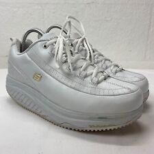 Skechers Fitness Work Shape Up White Women Sneakers Shoes Slip Resistant Size 11