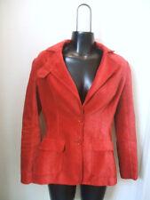 Beautiful Red Velvet Jacket Blazer Plenty By Tracy Reese Sz 4 Lined Pockets