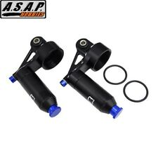 Hot Racing XMX156R01 Aluminum Adj Reservoir Piggyback Shock Caps Traxxas X-Maxx