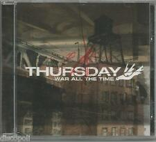 THURSDAY - war all the time - CD 2003 SIGILLATO SEALED