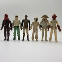 Vintage Star Wars Action Figures Lot of 6 1977-1983 Original Trilogy