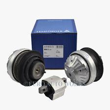 Mercedes Engine Motor Mounts + Transmission Mount Lemforder OEM 2200617 (3pcs)