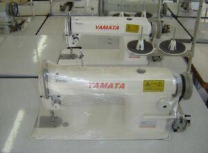 Yamata FY-8700 Lockstitch Industrial Sewing Machine New Servo,Lamp,Table DDL8700